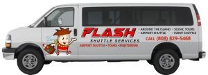 Flash Shuttle Van Profile