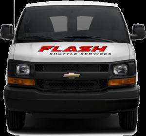 Flash Shuttle Van Front
