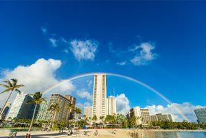 Waikiki tourist pickup and dropoff
