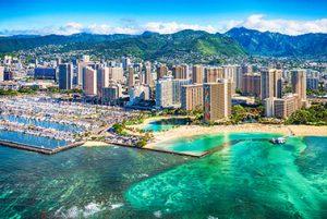 Ala Moana and Waikiki