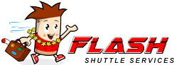 Flash Shuttle Services Hawaii Logo